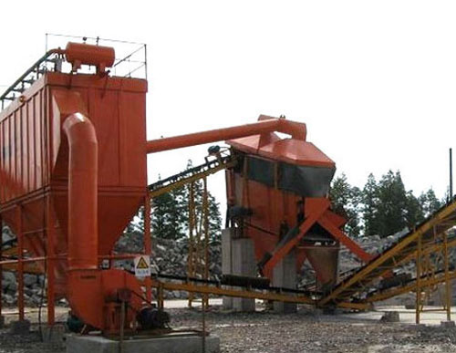 洗煤厂振动筛除尘器